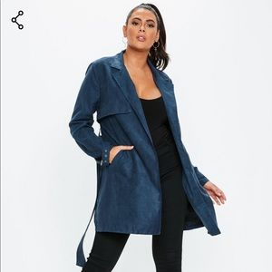Faux Suede Jacket-NEW